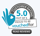 Vouchedfor Reviews Logo click to be redirected to Vouchedfor website